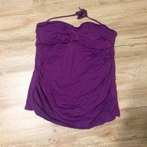 Women's Old Navy Tankini purple XL